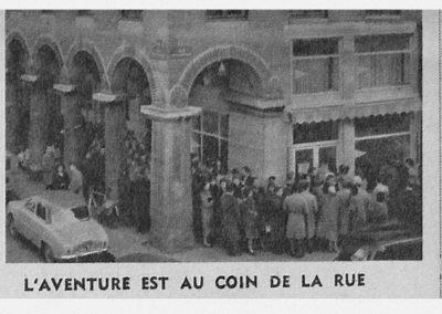 Le jour de l'ouverture des inscriptions Paris