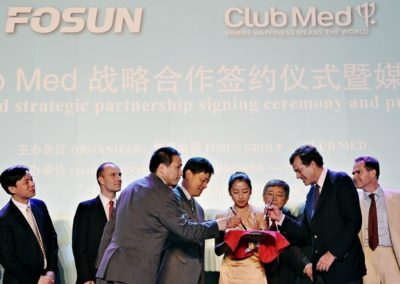 Absorption du Club Med par Fosun