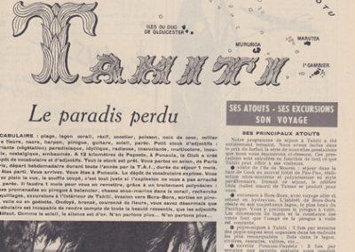 1955-  Tahiti
