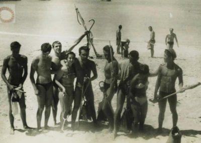 1955 - Retour de pêche
