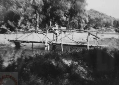Corfou 1952 Le petit pont