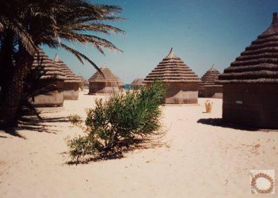 Cases sur la plage 1991