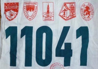 Dossard Marathon de l'Engadin