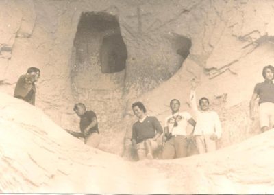 l'équipe GO 1974