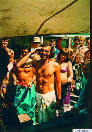 Serge Trigano Corfou 1970