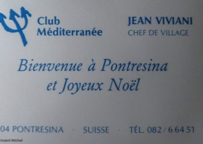 Welcome Pontresina !