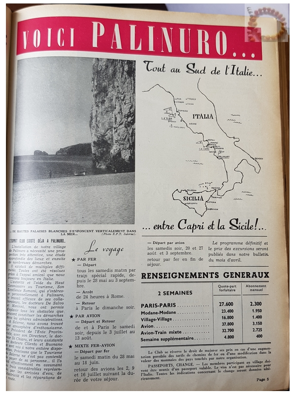 Page Palinuro Trident N°32 - Archive Collierbar