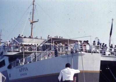 Ferry pour Corfou