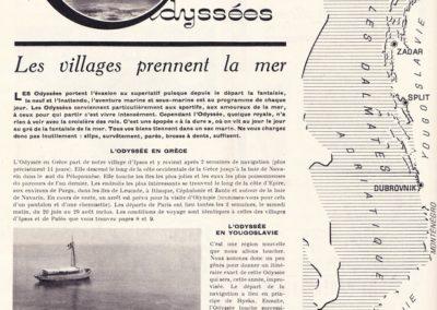 1958- Les Odyssées