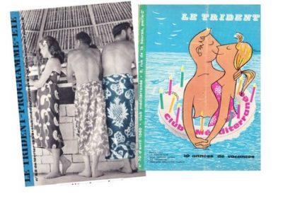 Tridents années 60-62