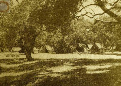 tentes corfou 1952