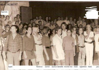 Equipe GO Corfou 1970