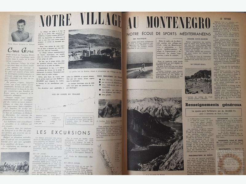 Page du Trident Mars 1953