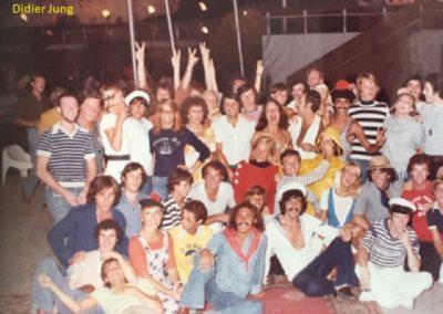 Soirée marin Agadir 1976