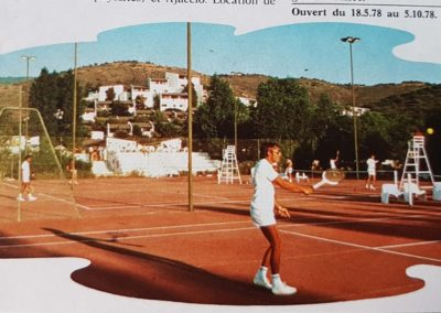 tennis cargese Trident Ete 76