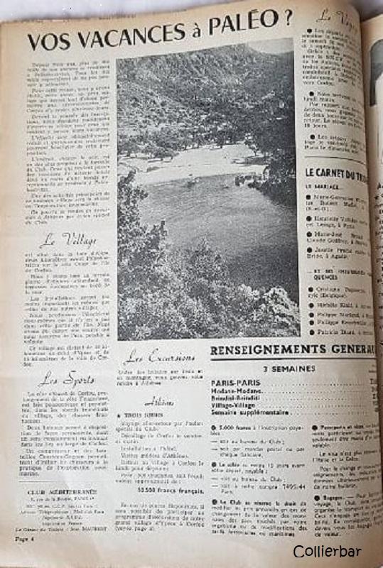 Vos Vacances à Paléo Trident 1955