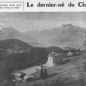 Présentation des Chamois Trident 1956